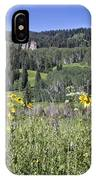 Flowers At Crested Butte IPhone Case