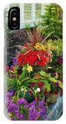 Flowers At Entrance IPhone Case