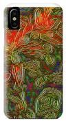 Flowers Btb-4 IPhone Case