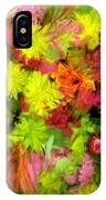 Flowers By The Brush IPhone Case