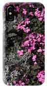 Flowers Dallas Arboretum V16 IPhone Case