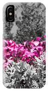 Flowers Dallas Arboretum V17 IPhone Case