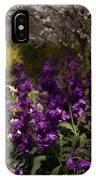 Flowers Dallas Arboretum V18 IPhone Case
