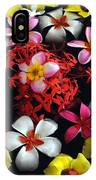 Flowers Floating IPhone Case