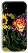 Flowers From The Heart IPhone Case