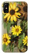 Flowers In Fall 2 IPhone Case