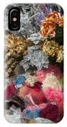 Flowers In Florist IPhone Case