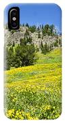 Flowers In The Park IPhone Case