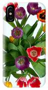 Flowers  Just  For  You IPhone Case