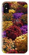 Flowers Near The Grand Palais Off Of Champ Elysees In Paris France   IPhone Case