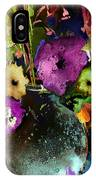 Flowers Night Party IPhone Case