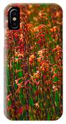 Flowers Of Fire IPhone Case