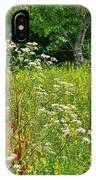 Flowers Of The Field IPhone Case