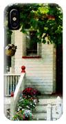 Flowers On Steps IPhone Case