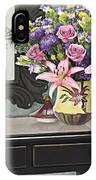 Flowers Table And Mirror In The Foyer Still Life IPhone Case