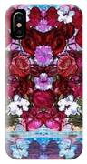 Flowers Touching Souls IPhone X Case