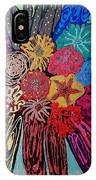 Flowers Burst By Jasna Gopic IPhone Case