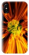 Flowery Flames IPhone Case