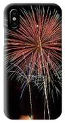 Flowery Sparks IPhone Case