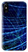 Flowing Blue IPhone Case