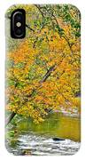 Flowing River Leaning Tree IPhone Case