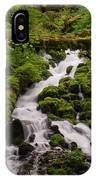 Flowing Stream In Spring IPhone Case