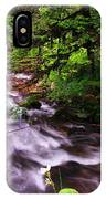 Flowing Through The Forest IPhone Case