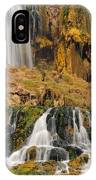 Flowing To The Snake IPhone Case