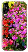 Flwrs Test 1 IPhone Case
