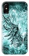 Fly Away Gothic Aqua IPhone Case