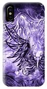 Fly Away Gothic Grape IPhone Case
