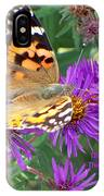 Flying Flower IPhone Case