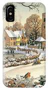 Focus On Christmas Time IPhone Case