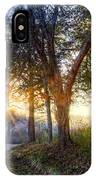Fog At The Farm IPhone Case