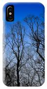 Foggy Blue Morning IPhone Case