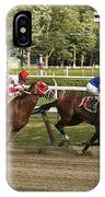 Follow Me To The Finish IPhone Case