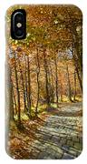 Follow The Yellow Brick Rd IPhone Case