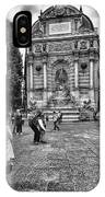 Fontaine Saint Michel IPhone Case