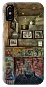Fonthill Castle Bedroom Fireplace IPhone Case