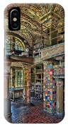 Fonthill Castle Library Room IPhone Case