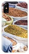 Food At Local Bazaar - Kashgar - China IPhone Case