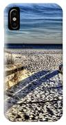 Footprint's In The Sand IPhone Case