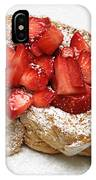 For The Love Of Strawberries IPhone Case