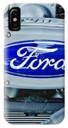 Ford Engine Emblem IPhone Case