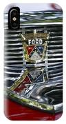 Ford Hood Emblem IPhone Case