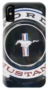 Ford Mustang Emblem IPhone Case
