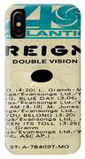 Foreigner Double Vision Side 1 IPhone Case