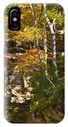 Forest Above The Cave IPhone Case