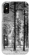 Forest Black And White IPhone Case