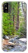 Forest Creek 2 IPhone Case